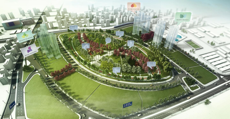 Jardim das Perdizes  Soluções Urbanísticas