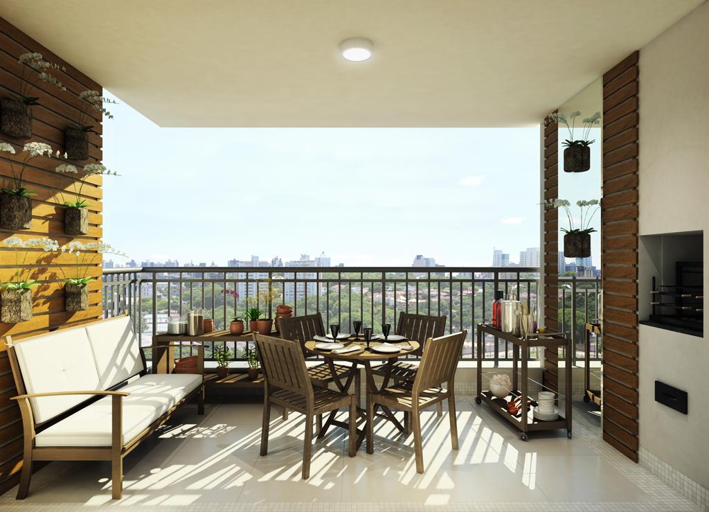 Terraço apto 94 m²