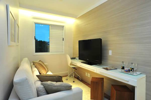 apto 74m² home theater