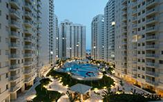 Fachadas e parque aquático - Acqua Play - Tecnisa