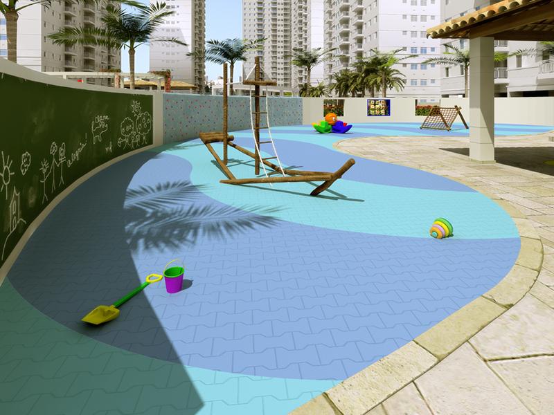 Acqua Play em Marapé, Santos