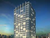 Fachada noturna - New Worker Tower - Jardim Aquarius - Tecnisa