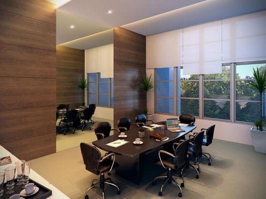Modelo de Sala de reunião