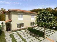Fachada da casa 82m² - Bosques da Vila - Tecnisa