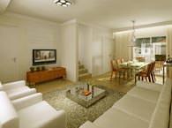 Living casa 82m² - Bosques da Vila - Tecnisa