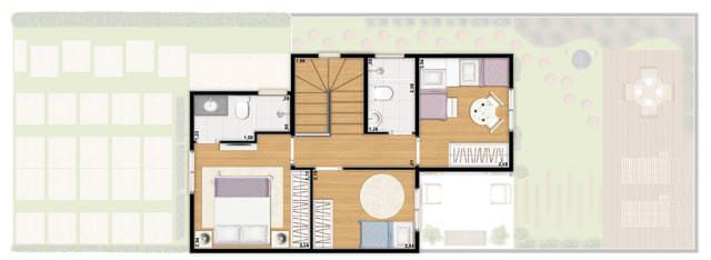 Casa 82m² - superior