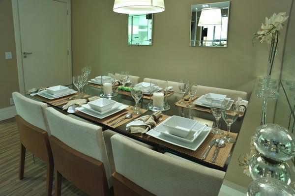 apto 67m² - sala de jantar