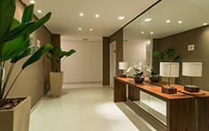 Hall dos elevadores - Flex Manoel da Nóbrega - Tecnisa