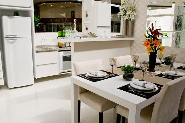 83,94m² - Cozinha americana