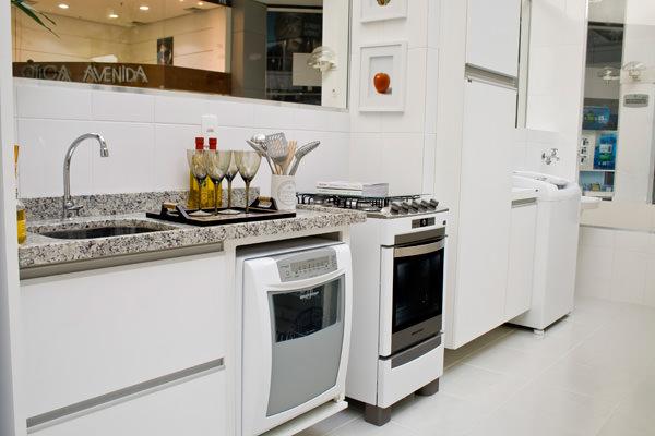 83,94m² - Cozinha e área de serviço