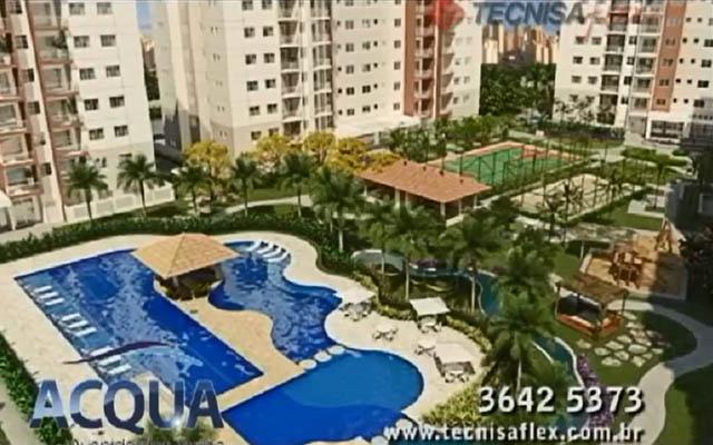 Manaus, apartamentos com 69 e 83m² privativos - Acqua - Tecnisa