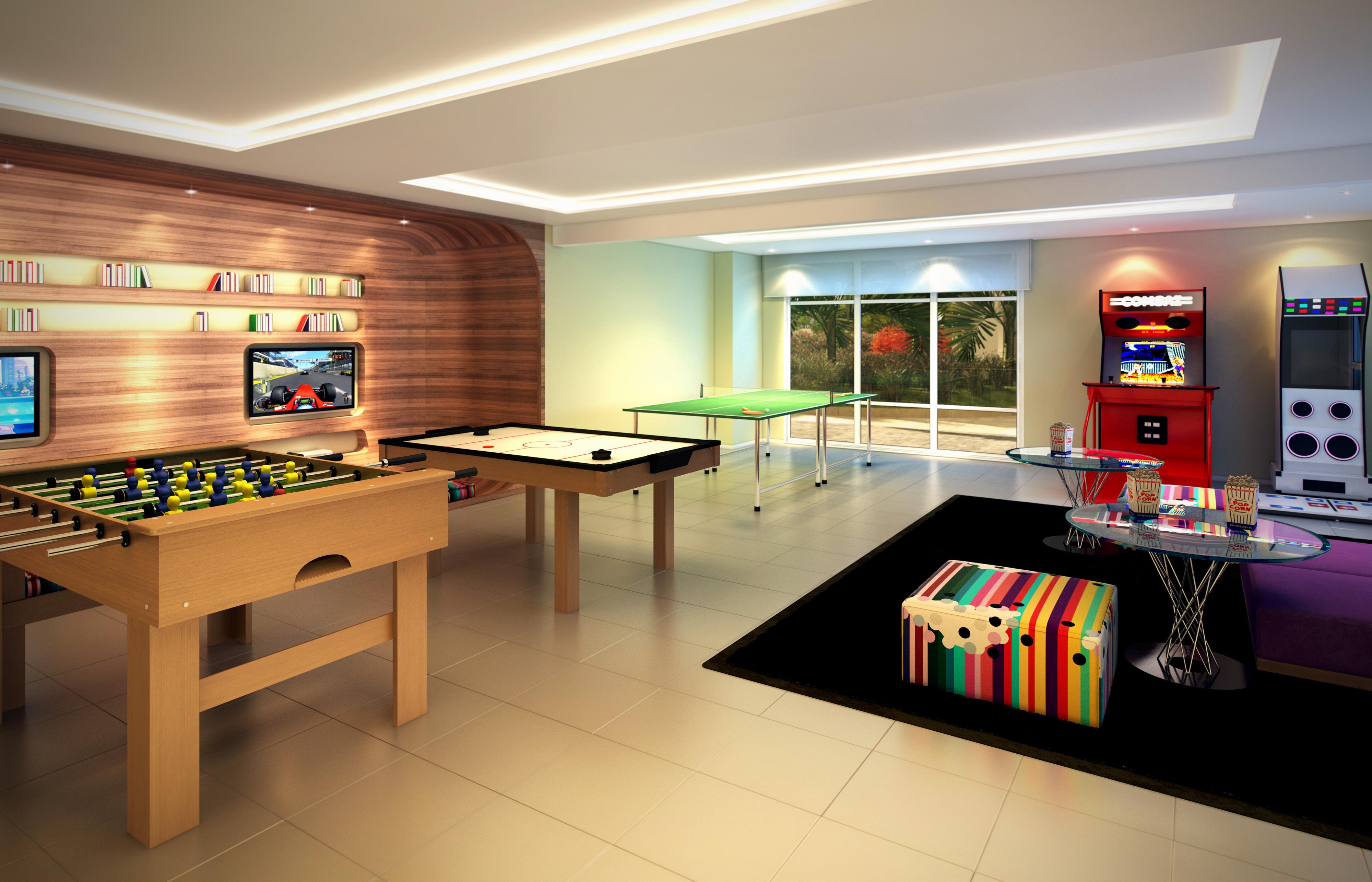 Salão de jogos eletrônicos