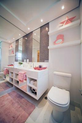 Banheiro da Suíte Menina