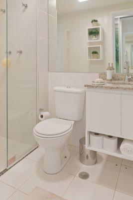 64m² - Banheiro Suíte