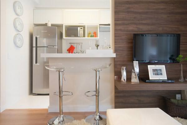 64m² - Sala de Estar e Cozinha