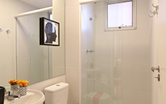 54 m² - Banho - Flex Imigrantes - Tecnisa