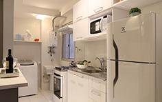 54 m² - Cozinha americana - Flex Imigrantes - Tecnisa