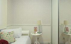 54 m² - Quarto da menina - Flex Imigrantes - Tecnisa