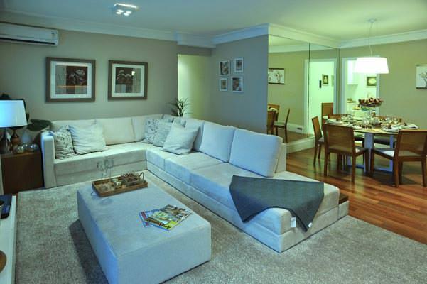 96m² - Sala de estar