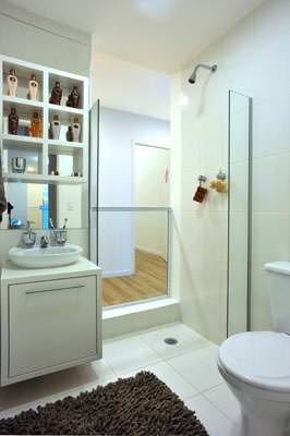 Apto 48,28m Banheiro