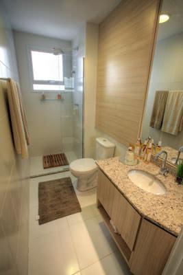 70,82m² - Banheiro suíte