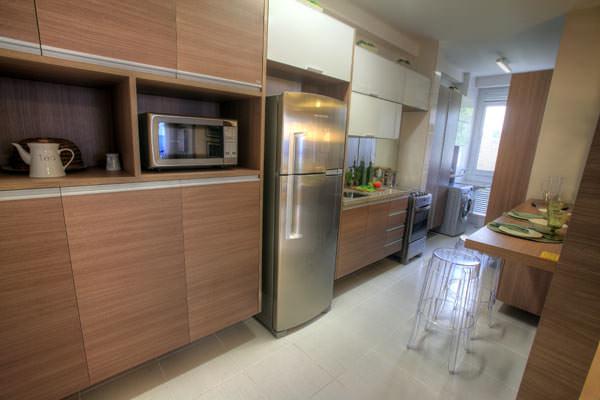 85,90m² - Cozinha