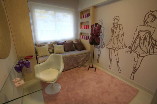 85,90m² - Dormitório menina