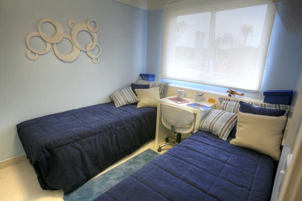 85,90m² - Dormitório meninos