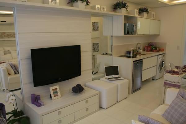 32,75m² Sala de estar - cozinha