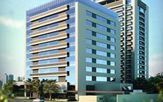 Fachada corporativa - Residence Centro Cívico - Tecnisa