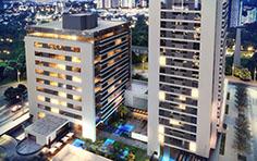 Vista aérea - Residence Centro Cívico - Tecnisa