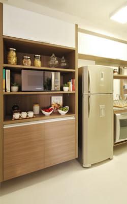 66,84m² - Cozinha