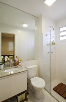 66,84m² - Banheiro da suíte