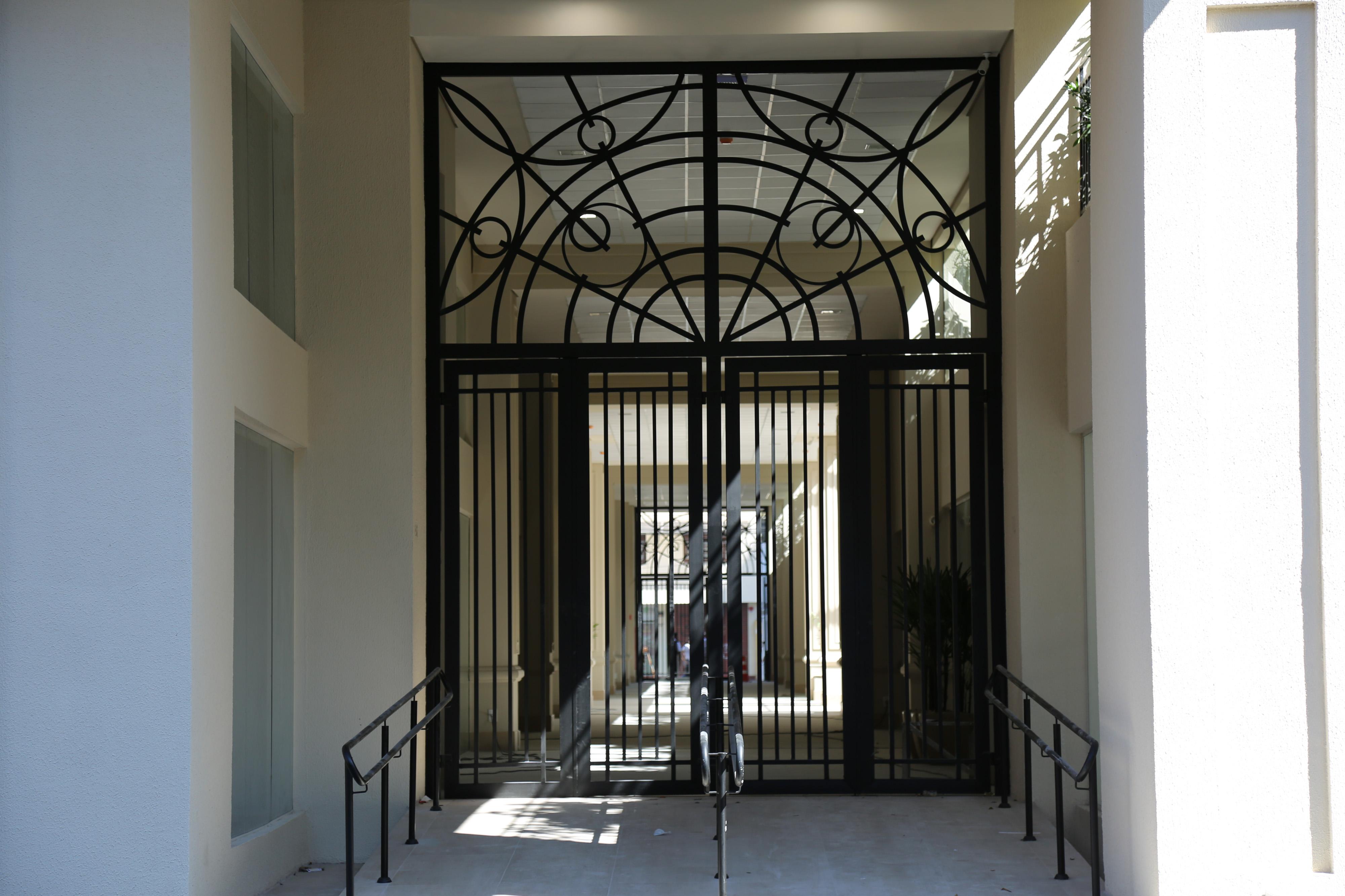 Entrada do residencial