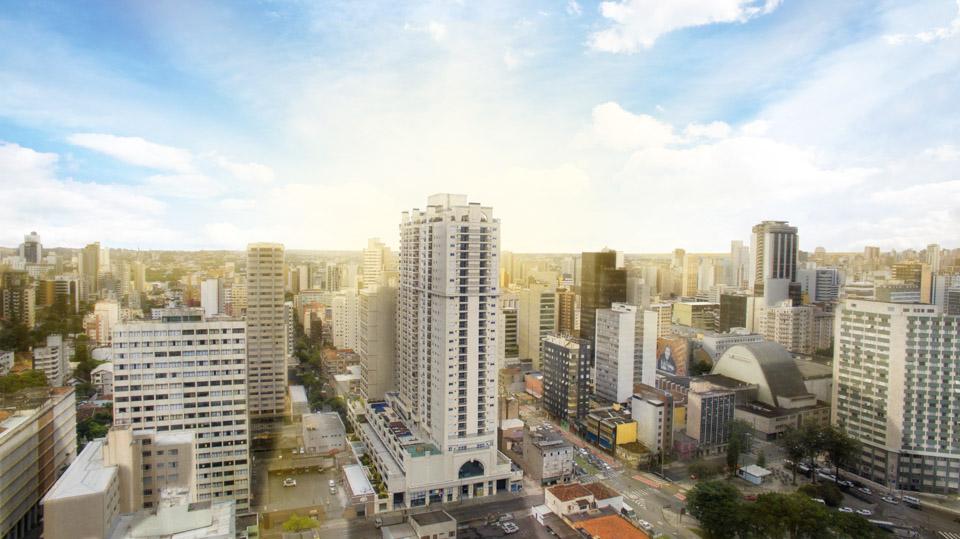 Hub - Home em Centro, Curitiba