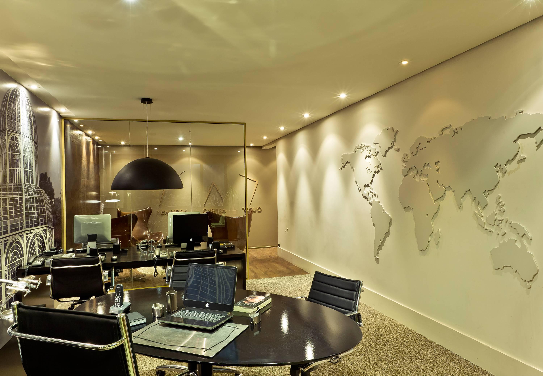 Sala comercial - visão geral