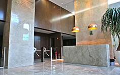 Hall de entrada torre comercial - HUB - Business - Tecnisa