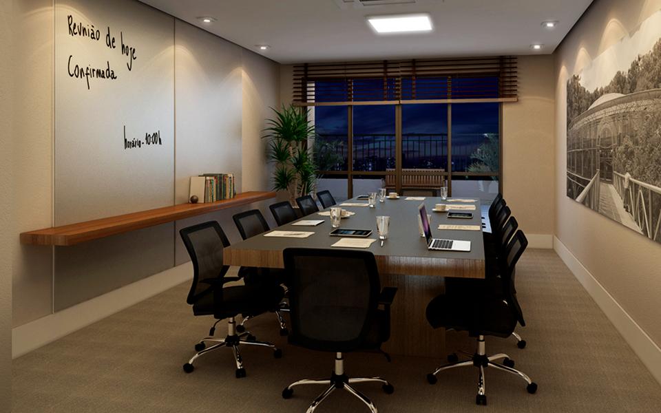 Sala de Reunião - HUB - Business - Tecnisa