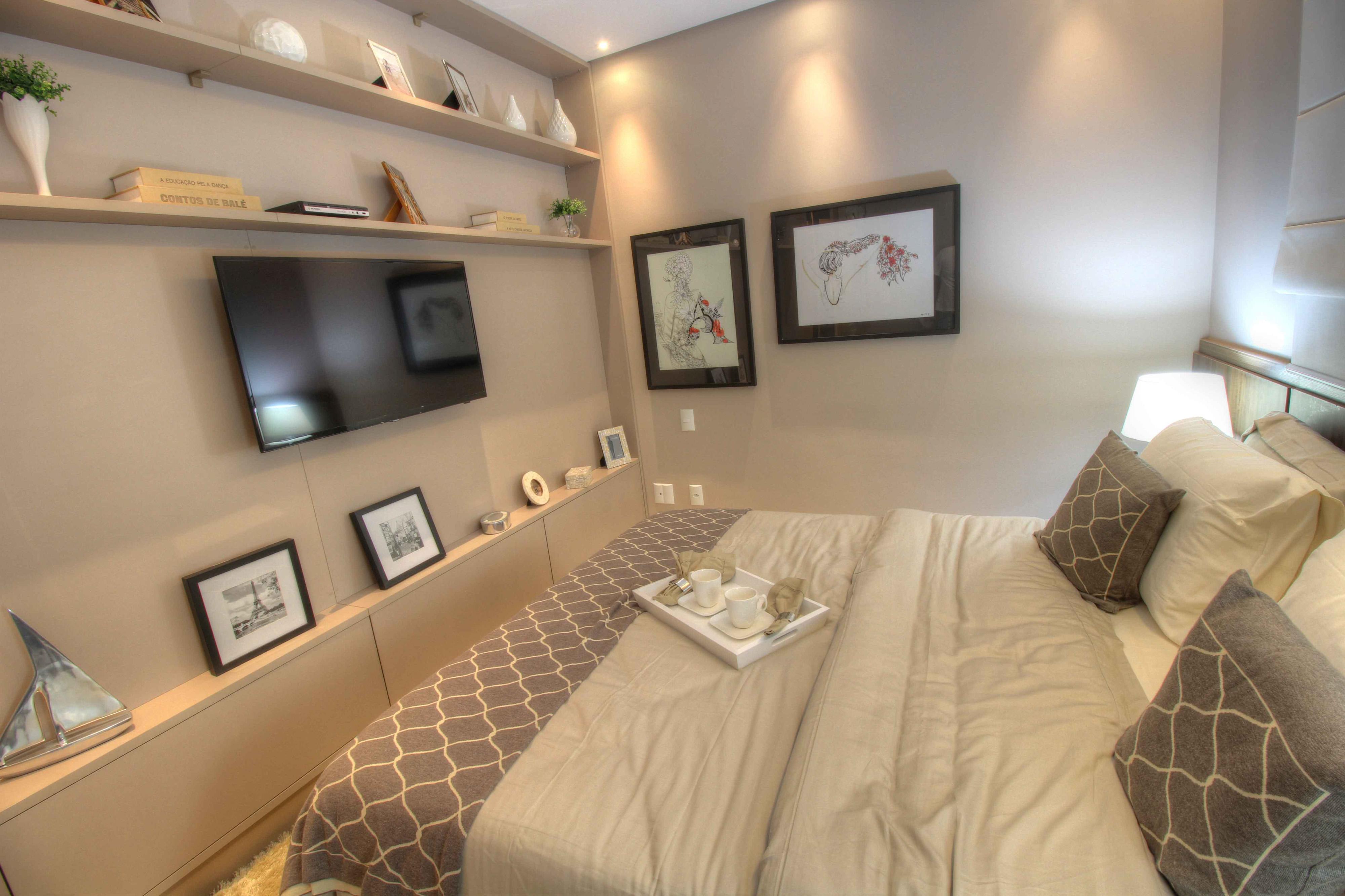 133 m² - Suíte do casal