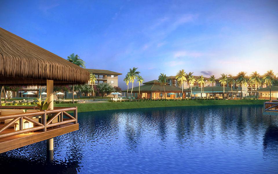 Clube com vista para o lago - Mandara Kauai - Tecnisa
