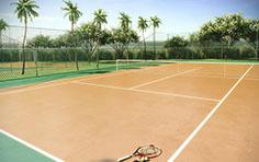 Quadra de tênis - Mandara Kauai - Tecnisa