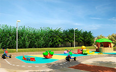 Playground - Flex Jundiaí II - Tecnisa