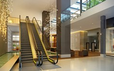 Hall Acesso  hotel e residencial - The Five Business - Tecnisa
