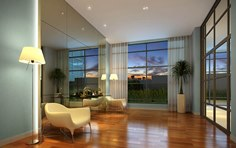 Hall residencial - The Five Business - Tecnisa