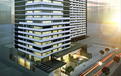 Vista lateral - The Five Business - Tecnisa