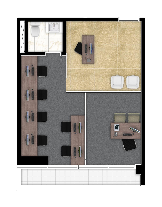 38,95 m² - Final 12