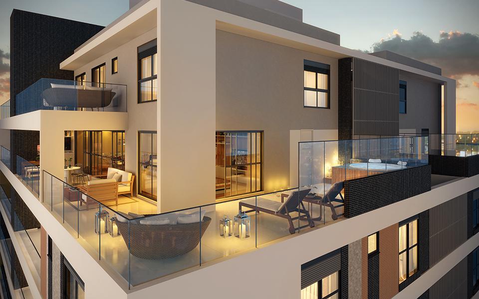 Duplex Terraço