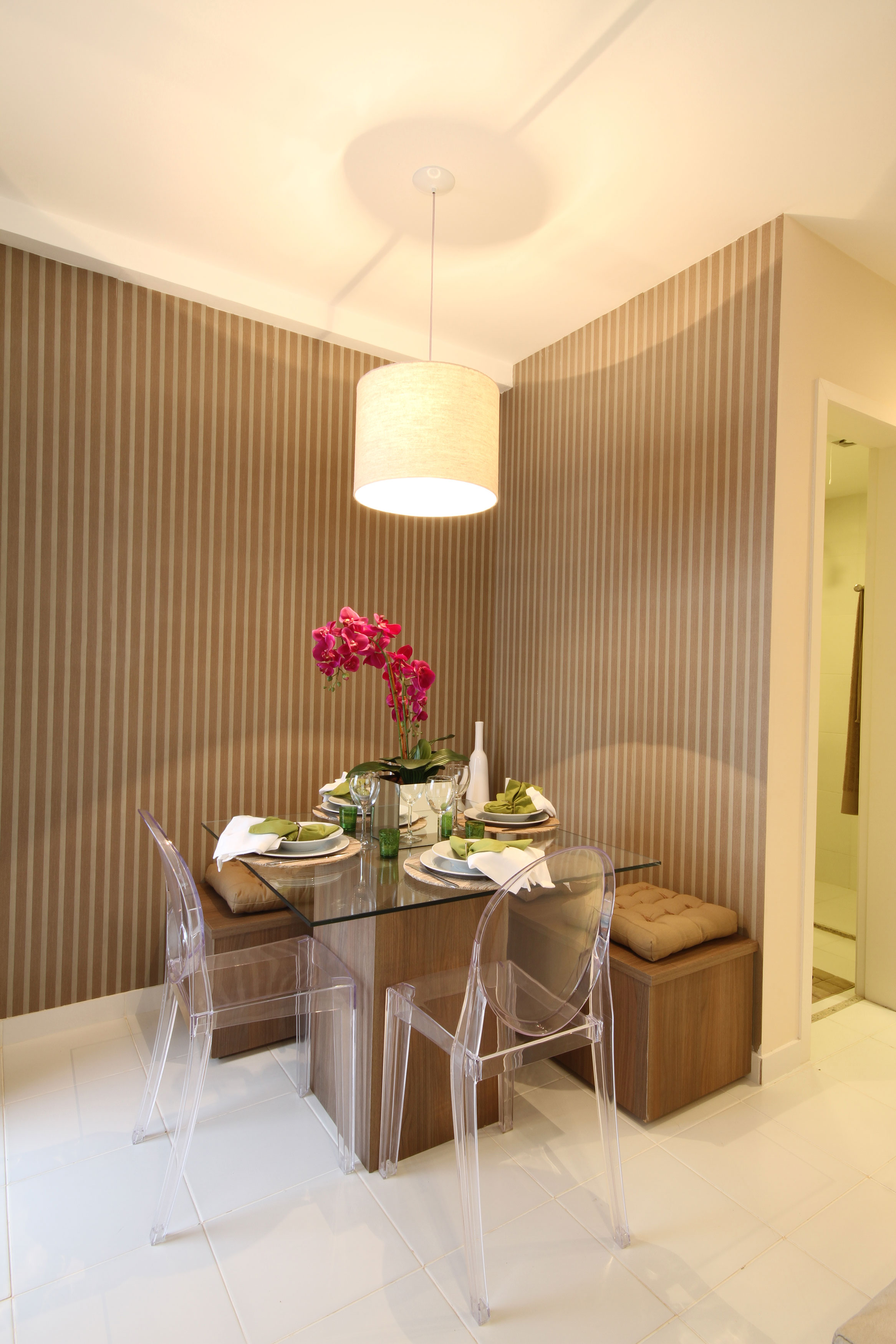 44,4 m² Sala de Jantar