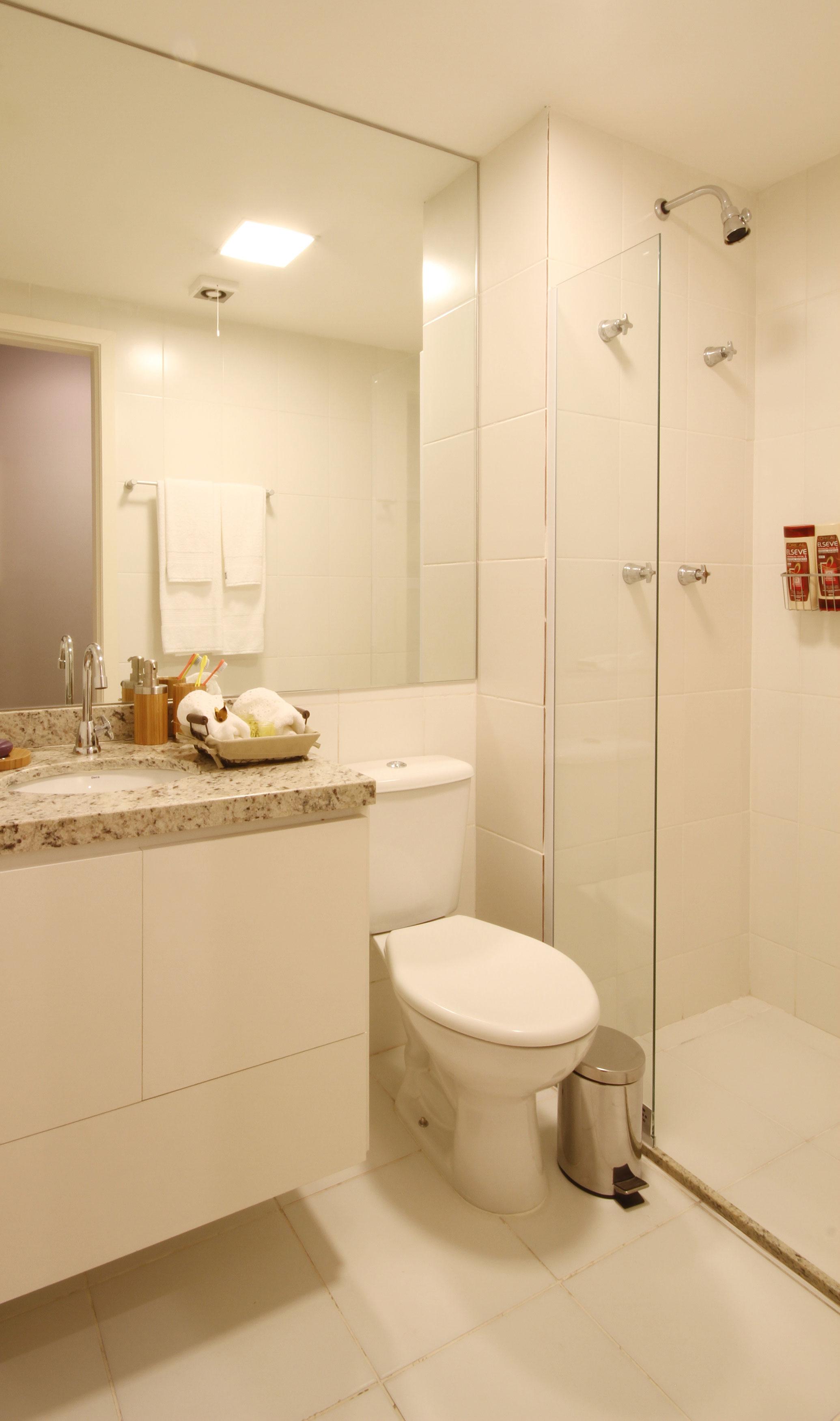 68,07 m² - Banheiro da suíte