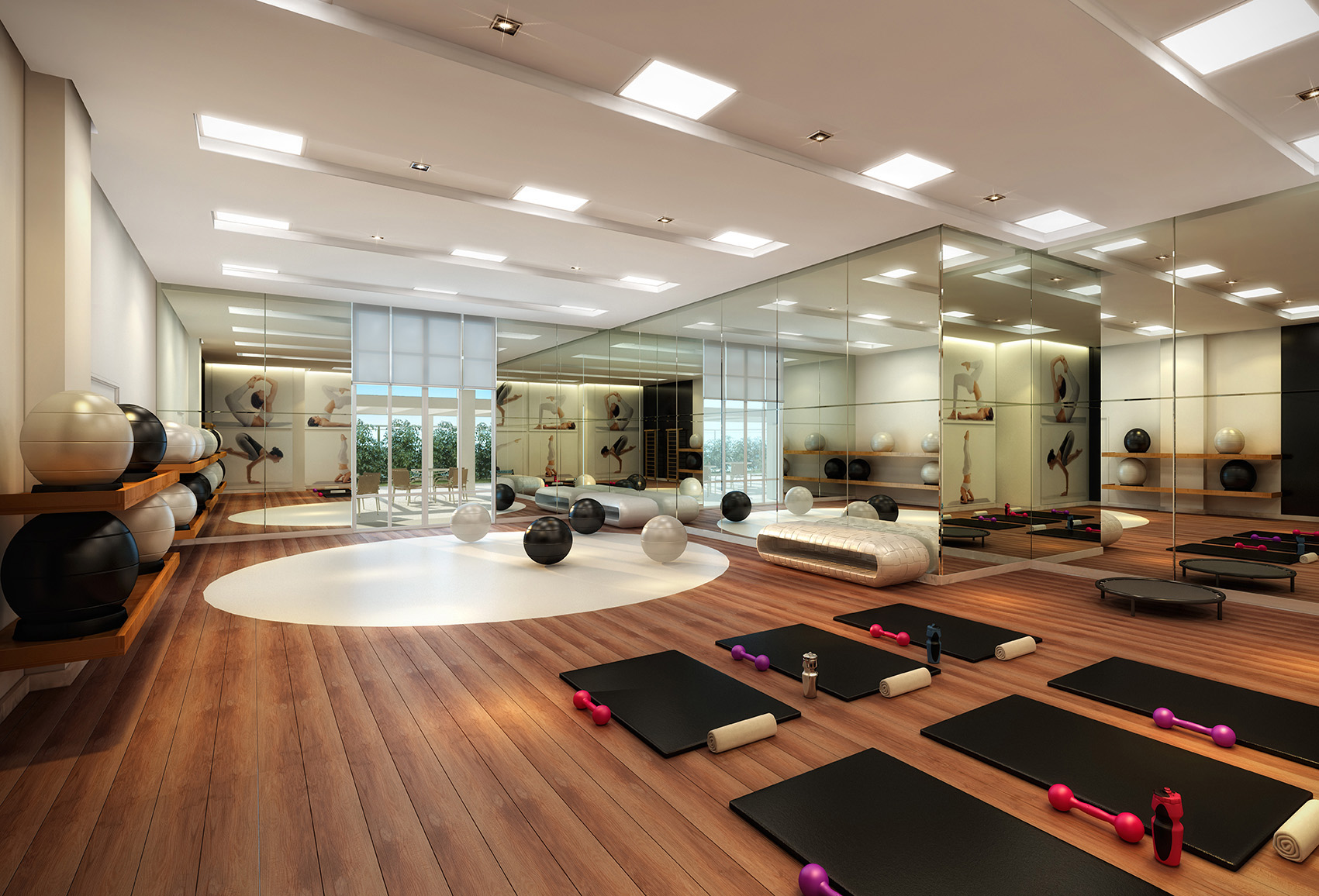 Espaço yoga